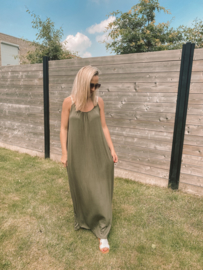 Celine dress khaki