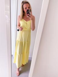 Adrienne dress yellow