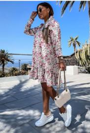 Rachel dress white