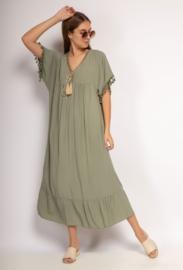 Eivissa dress khaki