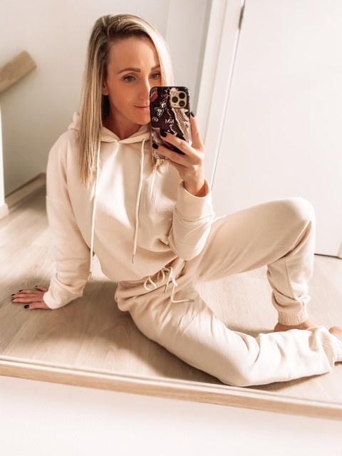 Homewear baggy beige