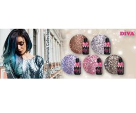 Diva Gellak Glamour Diamonds Collection 2 -  5pcs
