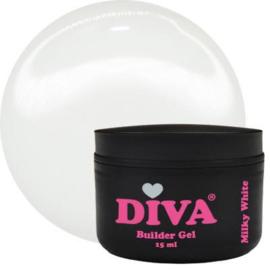 Diva Builder Gel Milky White 15 ml