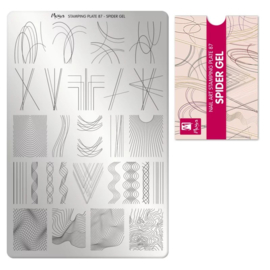 Moyra Stamping Plaat 87 Spidergel