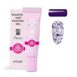 Moyra Stamping and Painting Gel No.05 Purple