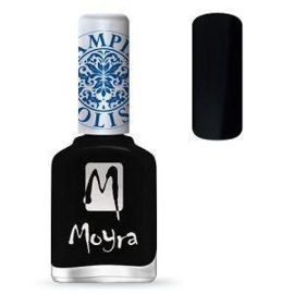 Moyra Stamping Nail Polish Black 12ml sp06