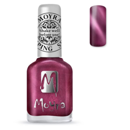 Moyra Stamping Nail Polish Cate Eye Magnetic Red 12ml sp32