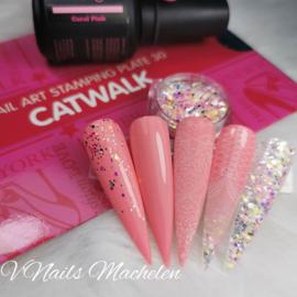 Diva Gellak Coral Pink Inspiration