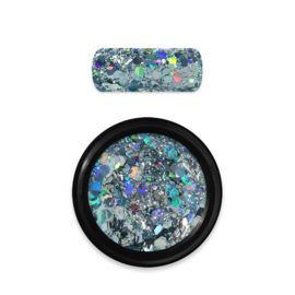 Moyra Rainbow Holo Glitter Mix 9 light blue