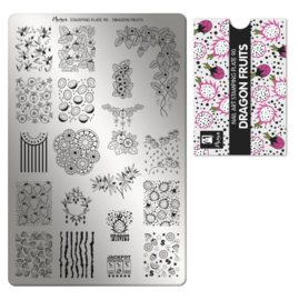 Moyra Stamping Plaat 90 Dragon Fruit
