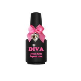 Diva Frozen Super Matte Top Coat zonder plaklaag