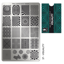Moyra Stamping Plaat 37 Visuality