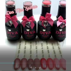 Diva Gellak Miss Sparkle Collection Inspiration