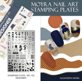 Moyra Stamping Plate 103 - Designer