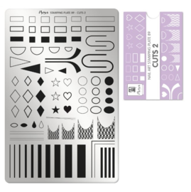 Moyra Stamping Plaat 89 Cuts 2