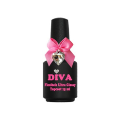 Diva Flexibele Ultra Glossy Topcoat 15 ml