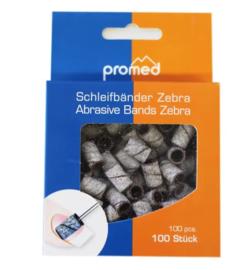 Freesbit - Schuurrolletjes Zebra grof 100 st