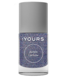 Stamping Polish Purple Rainbow