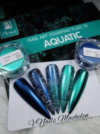 Moyra Stamping Plaat 04 Aquatic Inspiration