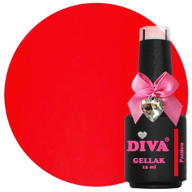 Diva Gellak Passion 15ml  Beauty on the List