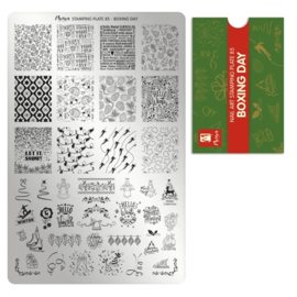 Moyra Stamping Plaat 85 Boxing Day
