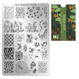 Moyra Stamping Plaat 82 Viva Verde
