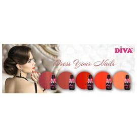 Diva Gellak Dress Your Nails Collection
