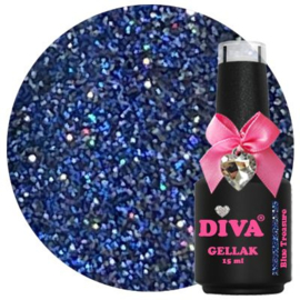 Blue Treasure 15 ml Diva Gellak Cat Eye Diva s Sassy Shades Collection