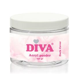 Diva Acryl Poeder Dark Cover 250 gram