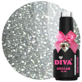 Diva Gellak Think Crystal - Think Glitter Collection