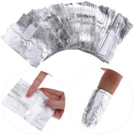 Foil Nail Wraps - 50pcs - 4458-1