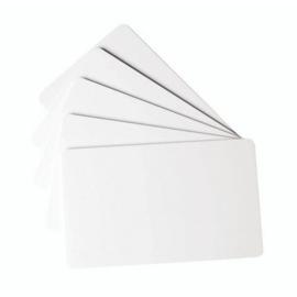 PVC Showkaartjes Wit - 25 stuks
