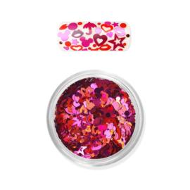 Moyra Rainbow Love Flitter Mix 02