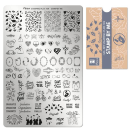 Moyra Stamping Plate 109 - Stamp By Me