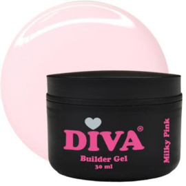 DIVA Builder Gel Milky Pink 30 ml