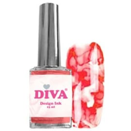 Diva Design Ink Red