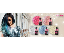 Diva Gellak Glamour Diamonds Collection 1 -  5pcs
