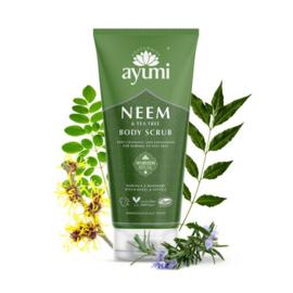 Neem & Tea Tree Body Scrub 200 ml | Ayumi