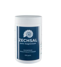 Magnesium Bisglycinaat poeder 200 g | Zechsal