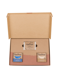 Plasticvrije Verzorging Giftbox - Tropical Sensation Medium | HappySoaps