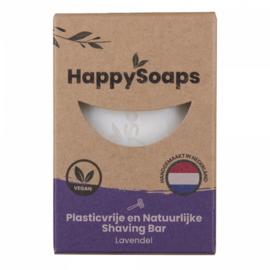 Happy Shaving Bar - Lavendel 80 gr | HappySoaps