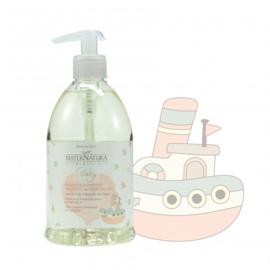Baby Gentle Shampoo & Wash with Flax Flowers 500 ml | MaterNatura