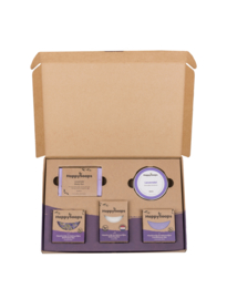 Plasticvrije Verzorging Giftbox - Lavender Lullaby Large | HappySoaps