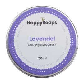 Natuurlijke Deodorant – Lavendel 50 g | HappySoaps