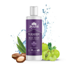 Kurkuma & Bergamot Body Wash 250ml | Ayumi