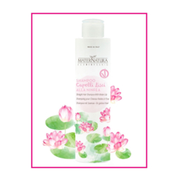 Straight hair shampoo with Water Lily 250 ml   MaterNatura