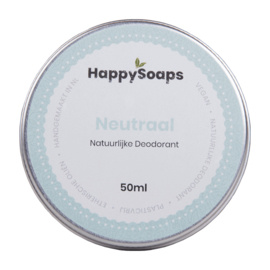 Natuurlijke Deodorant – Neutraal 50 g | HappySoaps