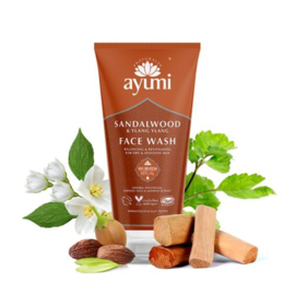 Sandelwood & Ylang Ylang Face Wash 150 ml   Ayumi
