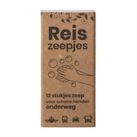 Happy Mini Reis- en Toiletzeepjes 40 gr (12 stuks) | HappySoaps