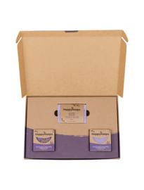 Plasticvrije Verzorging Giftbox - Lavender Lullaby Medium | HappySoaps